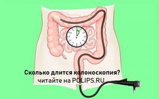 Сколько по времени делают колоноскопию кишечника и важные советы по процедуре