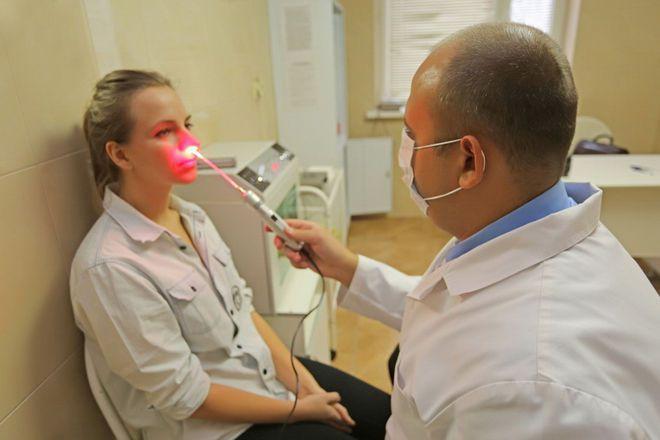 Физиотерапия лазером
